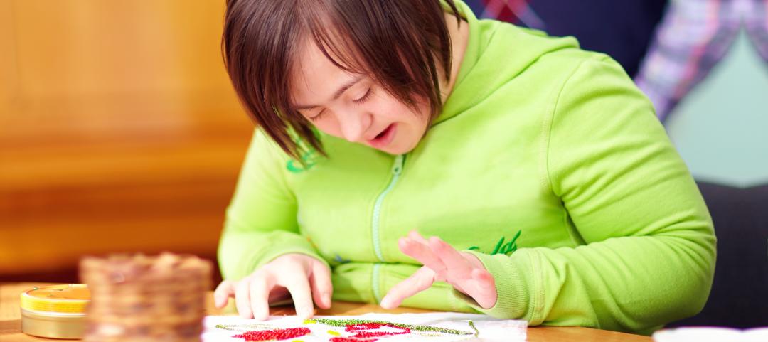 child doing activity